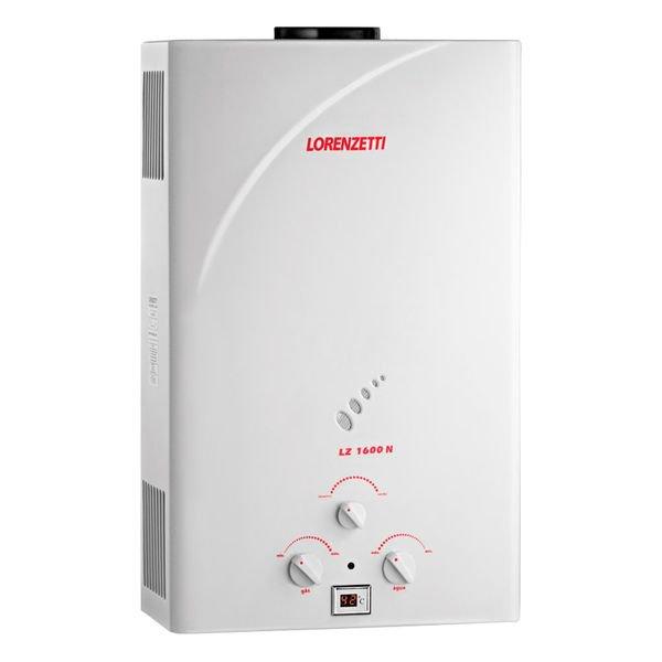 aquecedor de agua lz 1600n lorenzetti 1