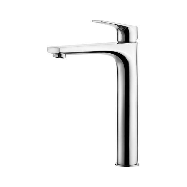 misturador monocomando lavatorio de mesa bica alta 2877 c90 lorenzetti 1