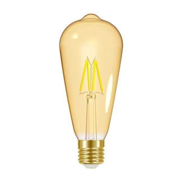lampada led dimerizavel taschibra filamento vintage st64 1