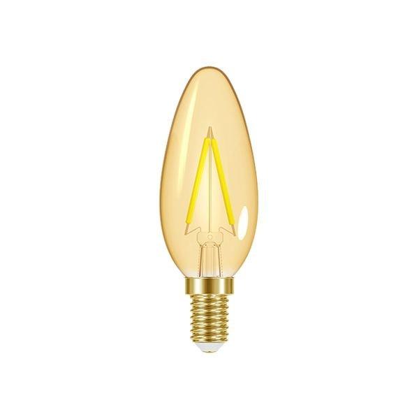 lampada led taschibra filamento vintage vela b35 1
