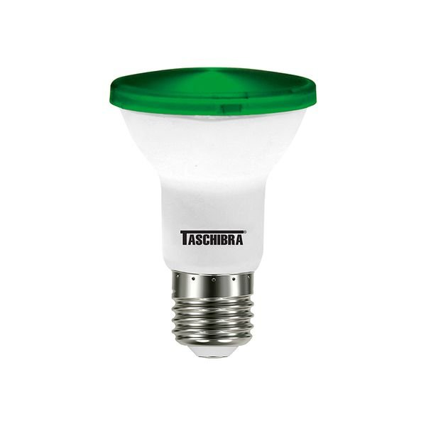 lampada led taschibra par 20 ip65 verde 1