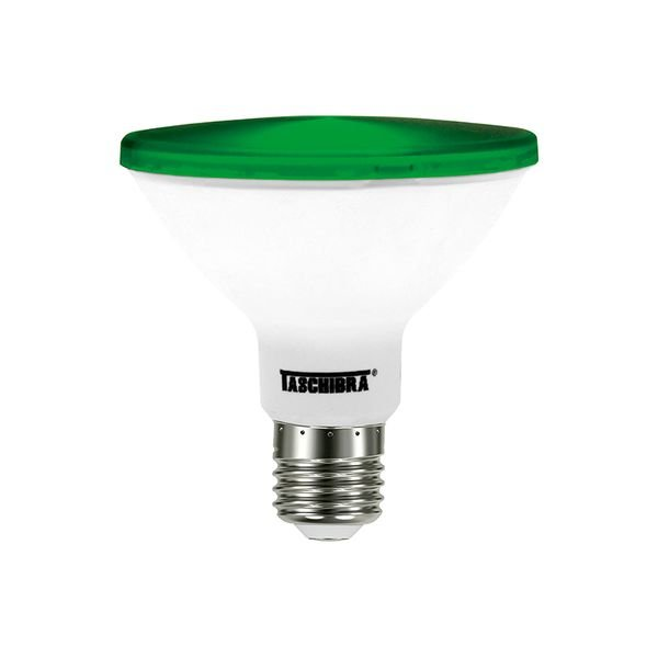 lampada led taschibra par 38 ip65 verde 1