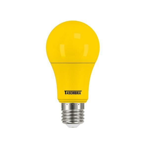 lampada led taschibra tkl colors amarelo