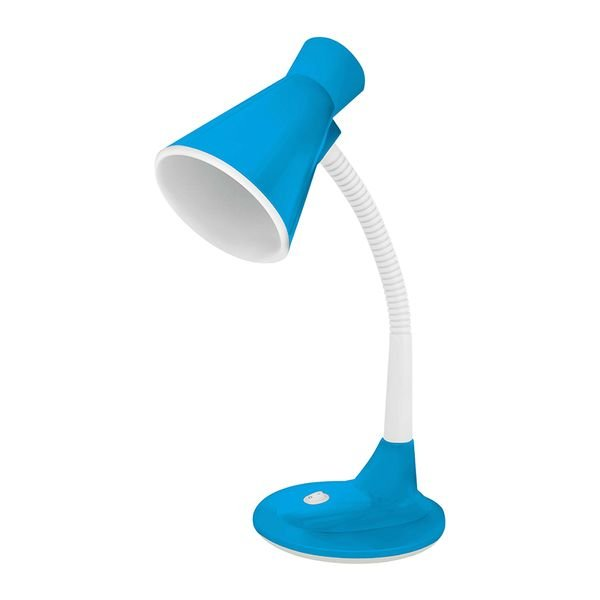 luminaria de mesa taschibra tlm 03 azul