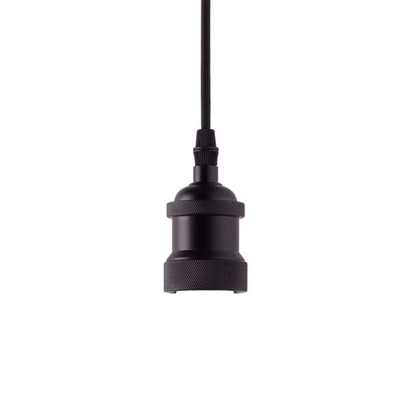 lustre pendente taschibra dot metal decor preto 1