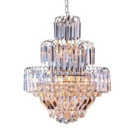 lustre pendente startec floratas cromado e27 bivolt 1
