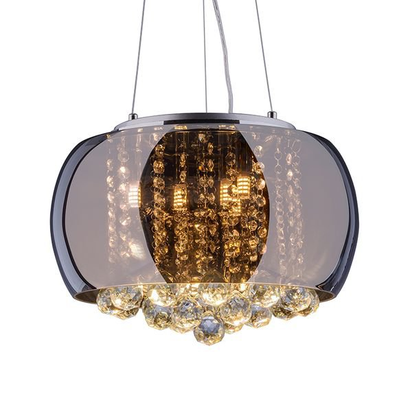 lustre pendente startec attractive 40 cromado g9 bivolt 1