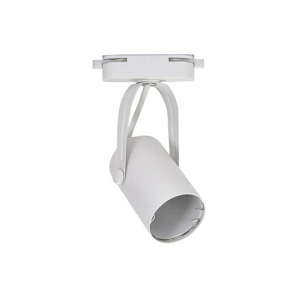 spot direcionavel para trilho energizado branco gu10 bivolt