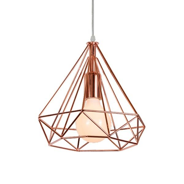lustre pendente llum tetra cobre e27 bivolt 1
