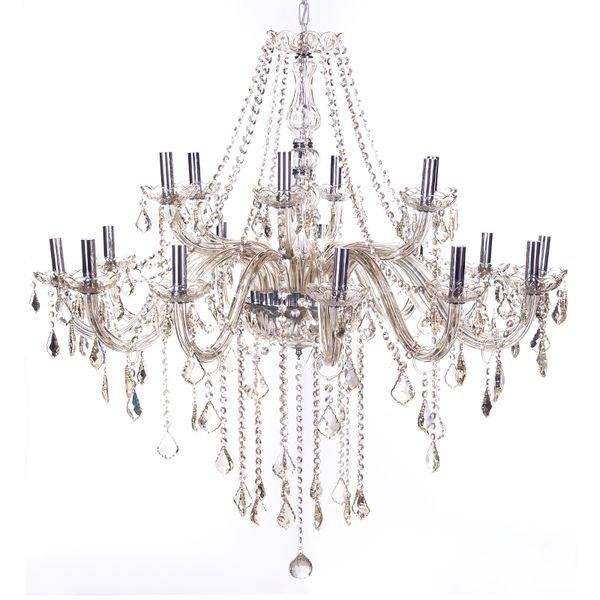 lustre pendente arquitetizze maria thereza 18 bracos champagne e14 bivolt 1