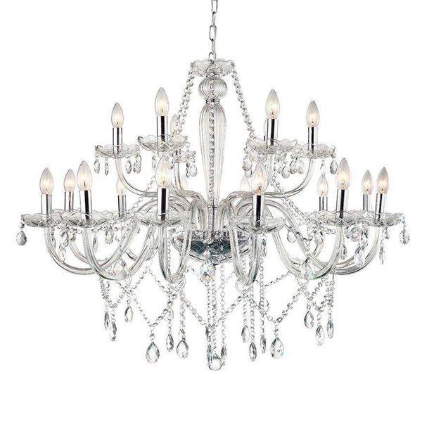 lustre pendente arquitetizze maria thereza 18 bracos transparente e14 bivolt 1