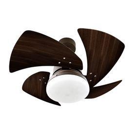 ventilador de teto venti delta tornado com 4 pas tabaco marrom