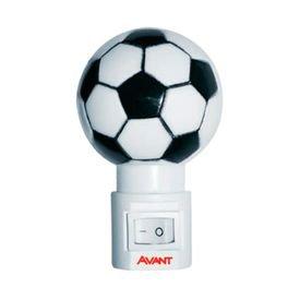 luz noturna avant bola de futebol com led 1w bivolt 2