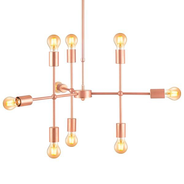 lustre pendente avant hash 9 cobre e27 bivolt 1