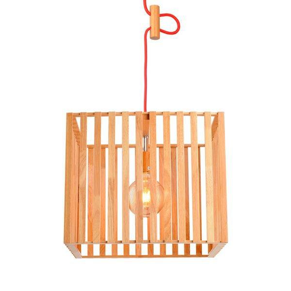 lustre pendente avant oka cube grande em madeira e27 bivolt 1