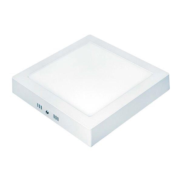 painel de led taschibra quadrado de sobrepor 24w bivolt