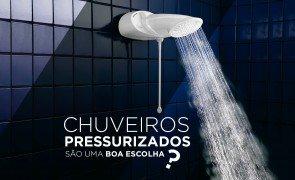 chuveiro pressurizado e a solucao CAPA