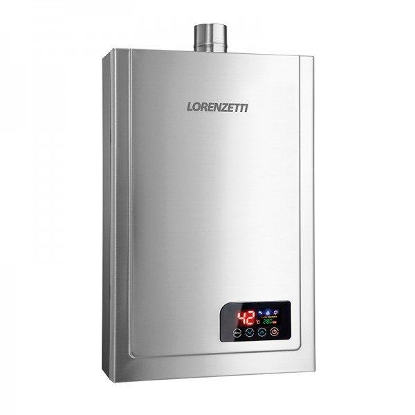 aquecedor a gas lz 2300di inox lorenzetti 1
