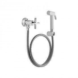 ducha higienica docol invicta 722906 com flexivel de 1 20m branca 1