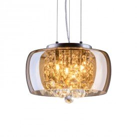 lustre pendente startec attractive 28 ambar g9 bivolt 1