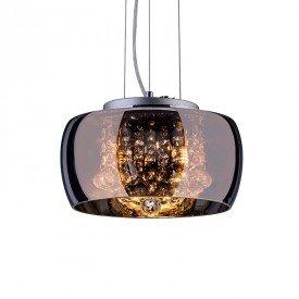 lustre pendente startec attractive 28 cromado g9 bivolt 1