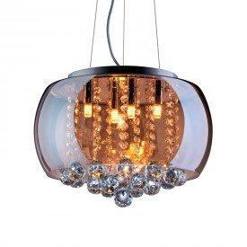 lustre pendente startec attractive 40 ambar g9 bivolt 1