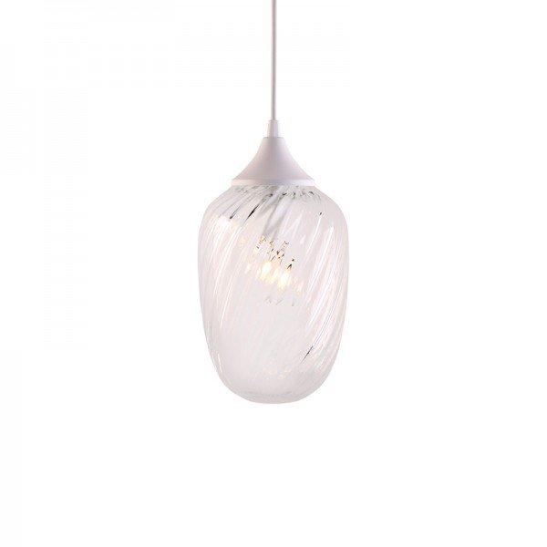 lustre pendente taschibra marrakesh rigato transparente e27 bivolt 1