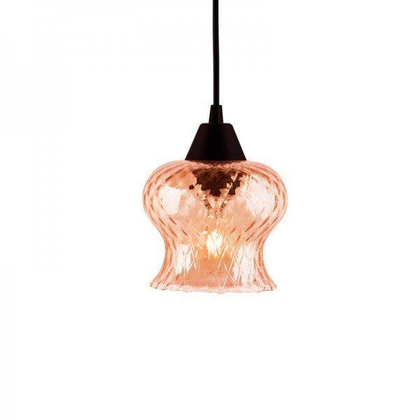 lustre pendente taschibra aisha boreal conhaque e27 bivolt 1