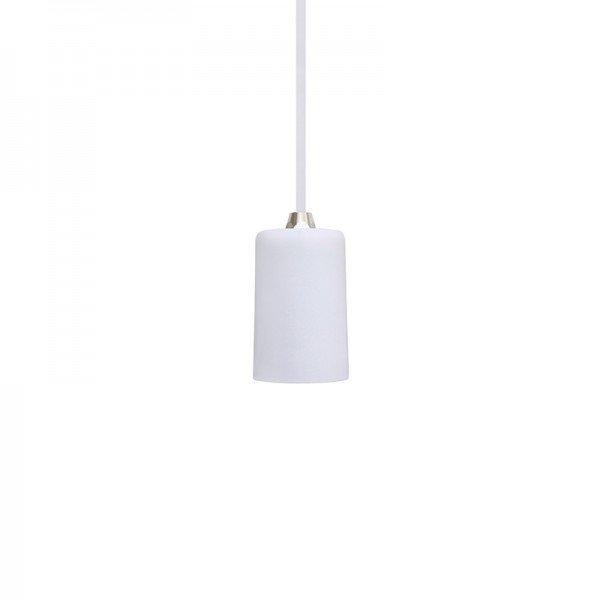 lustre pendente taschibra dot metal branco e27 bivolt 1