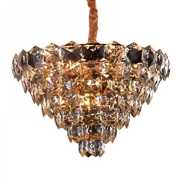 lustre pendente startec cristalle 80cm transparente g9 bivolt 1