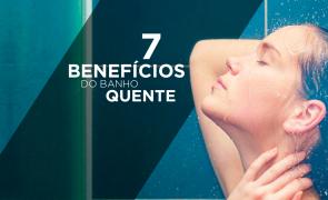 Benefícios do banho quente