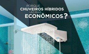 Porque os chuveiros híbridos são mais econômicos