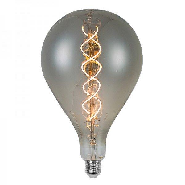 lampada led filamento a165 pedra l55151 6w bivolt e27