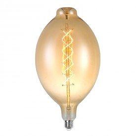 lampada led filamento bt180 l55141 6w bivolt e27
