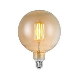 lampada led filamento g150 l55142 4w bivolt e27