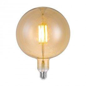lampada led filamento g180 l55143 6w bivolt e27