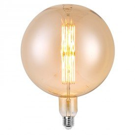 lampada led filamento g200 l55144 12w bivolt e27
