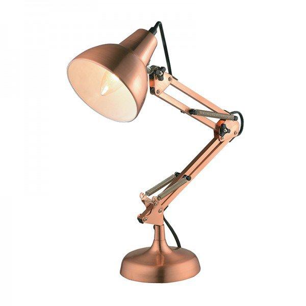 luminaria quality nexus 1060 de mesa e27 bivolt cobre 1