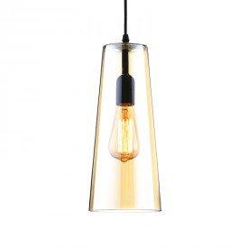 lustre pendente quality bugle 730 e27 bivolt ambar 1