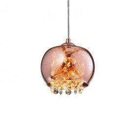 lustre pendente quality dublin 1279 g9 bivolt cobre 1