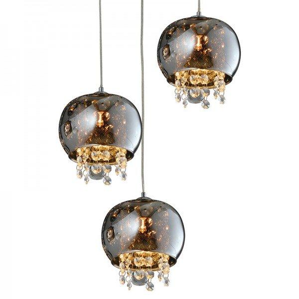lustre pendente quality dublin 1280 g9 bivolt cromado 1