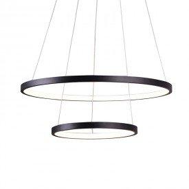 lustre pendente quality montreal 1301 led bivolt preto 1