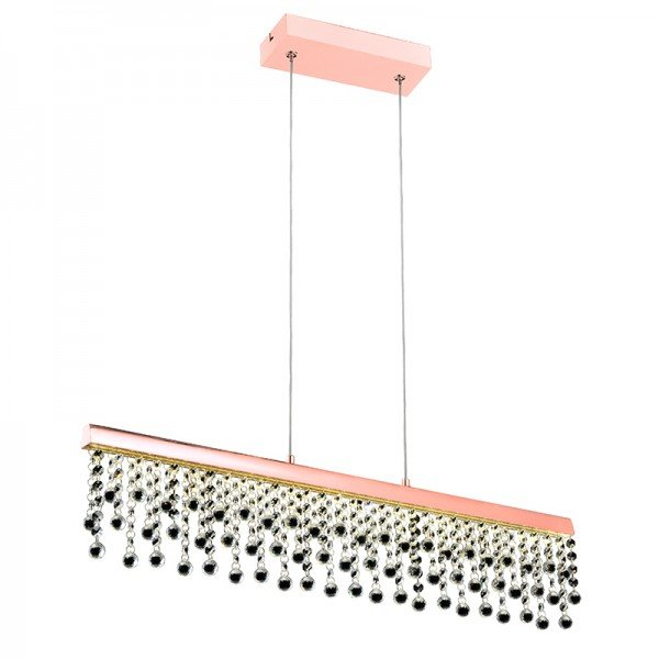 lustre pendente quality munique 1277 led bivolt cobre 1