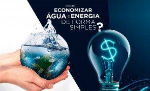 Como economizar agua e energia