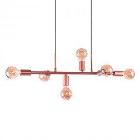 lustre pendente quality spine 1361 cobre e27 bivolt 1