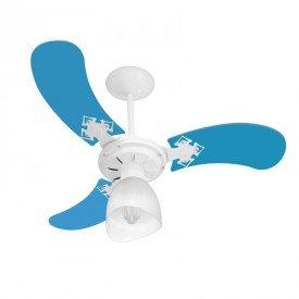 ventilador de teto venti delta new baby colors com 3 pas azulresultado