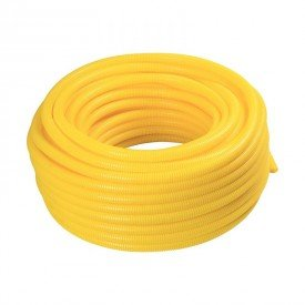 eletroduto flexivel corrugado tramontina leve 3 4 50 metros amarelo 1resultado