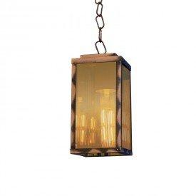 lustre pendente blumenau vintage chain e27 bivolt cobre 1resultado