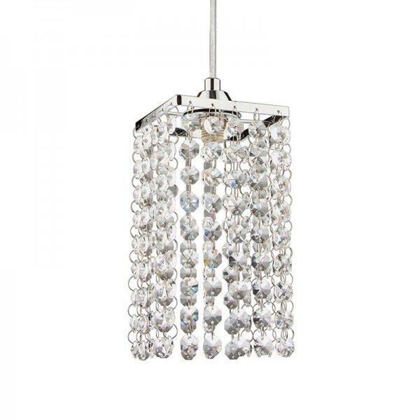 lustre pendente blumenau cristal lizzie cromado g9 bivolt 1resultado