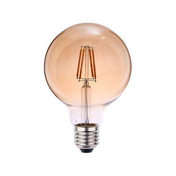 lampada led blumenau filamento globo g95 4w bivolt e27resultado